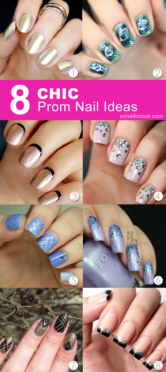 Top 8 Prom Nail Ideas To Suit Any Dress