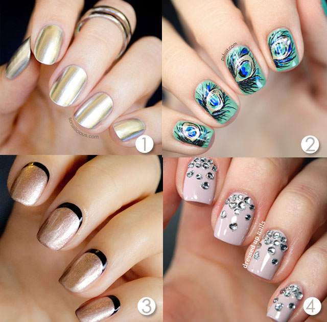 2014 Nail Art Ideas For Prom: Top 8 Prom Nail Ideas To Suit Any Dress