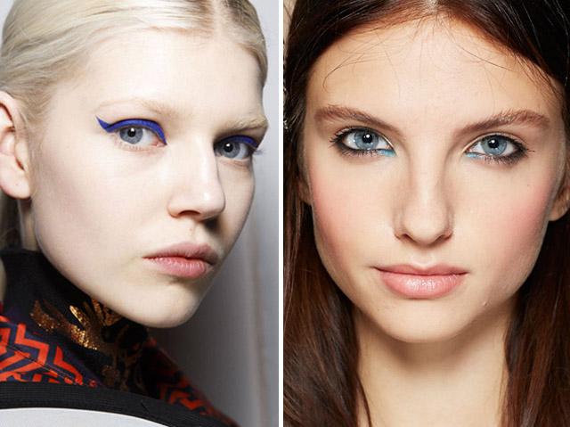 Summer 2014 Makeup Trends Blue