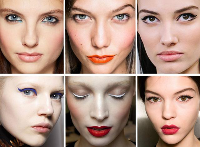 summer 2014 Makeup trends
