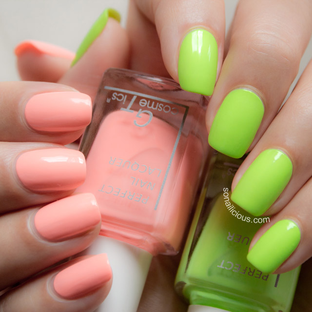 the best neon nail polish - SoNailicious