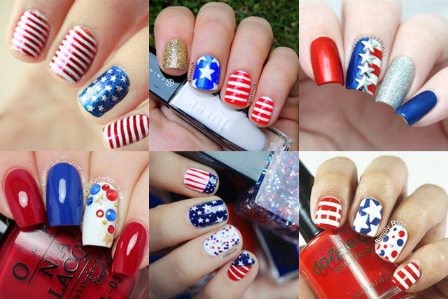 Pakistan Independence Day Nail Art 4 Designs: 4th Of July Nails: 10 Best Designs To Try