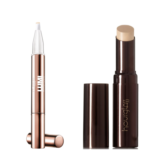 Concealer: L'Oreal Lumi Magic Highlighter and Hourglass Hidden Corrective Concealer