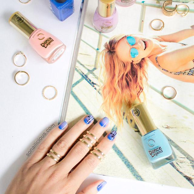 dusk beach nails