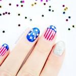 Happy 4th of July Nail Art – Tutorial