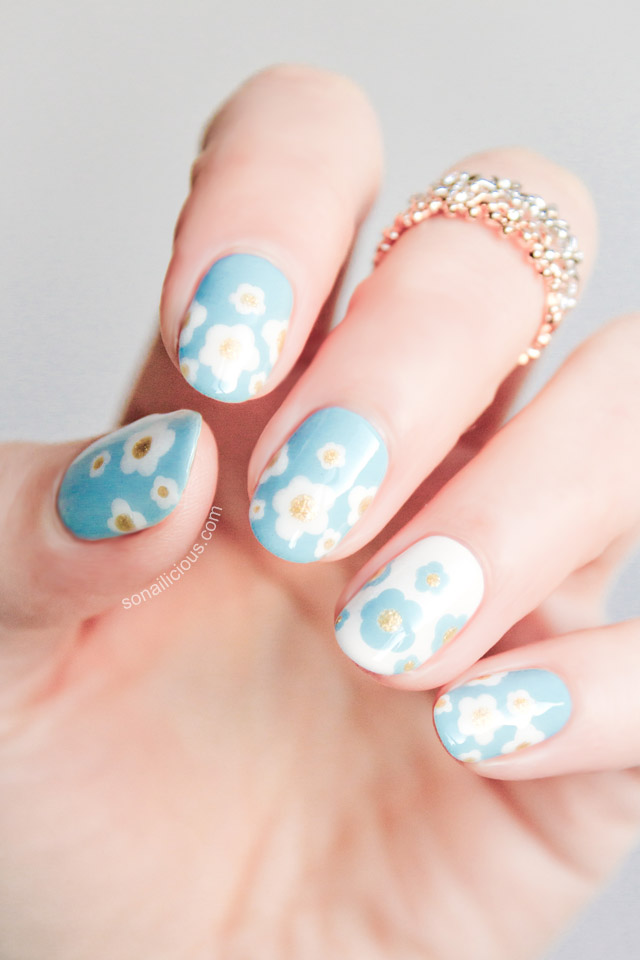 Daisy Dream Nails by SoNailicious