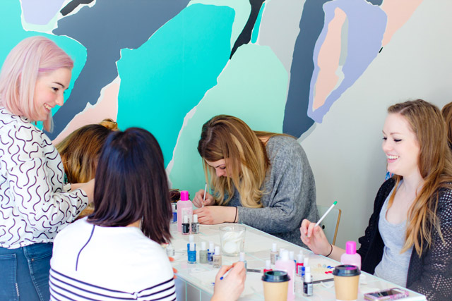 nail art workshop melbourne -