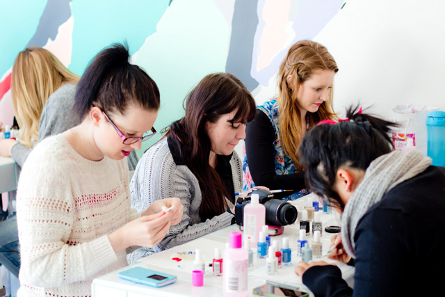 nail art workshop melbourne