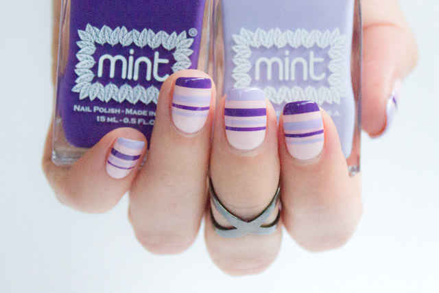 mint polish and sonailicious collaboration, easy nail art tutorials