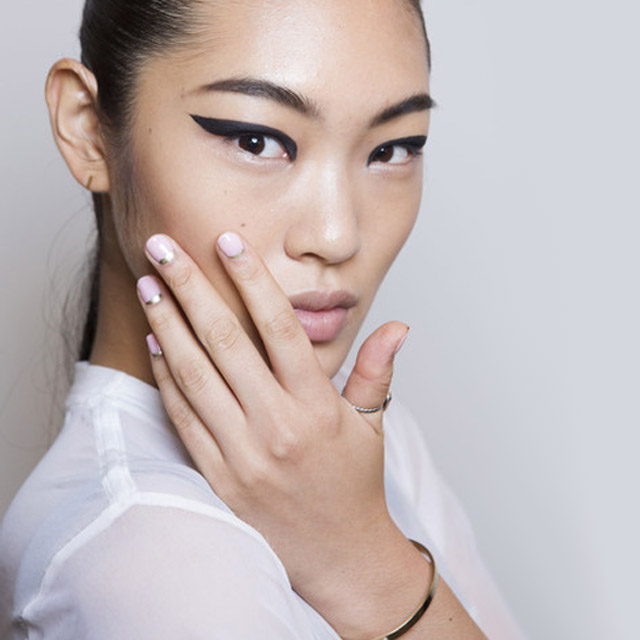 nails at Cushnie et Ochs new york spring 2015