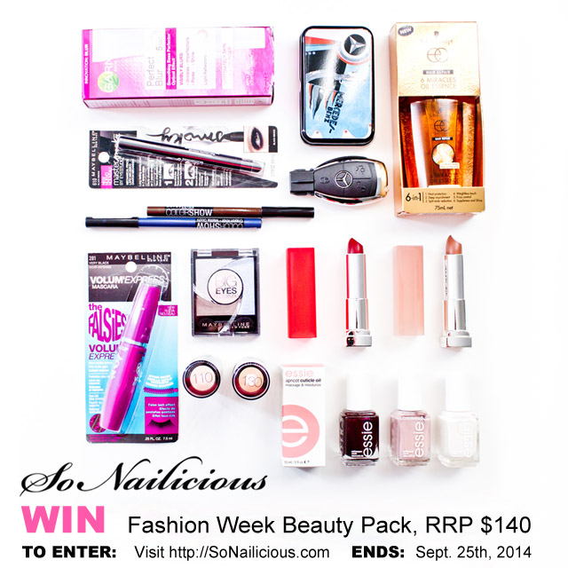 Fashion Week SONAILICIOUS GIVEAWAY