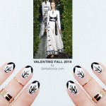 Valentino Inspired Nails