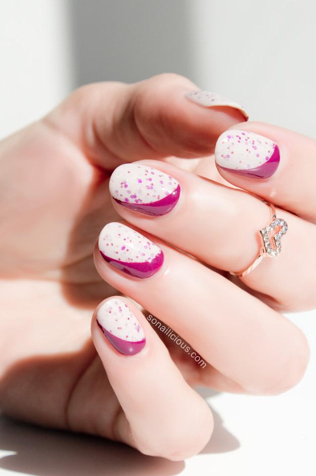 sideways Ruffian manicure