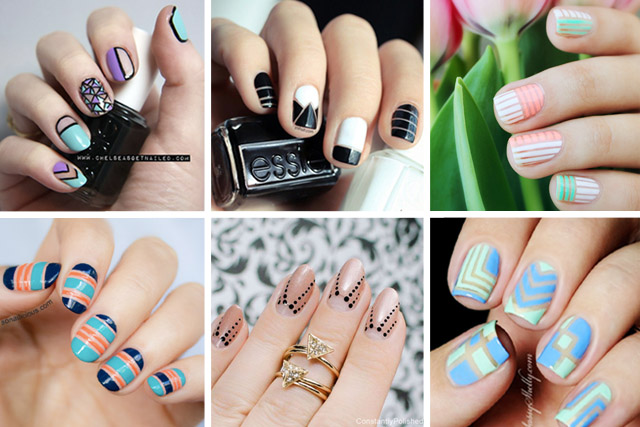10 best negative space nail designs 1