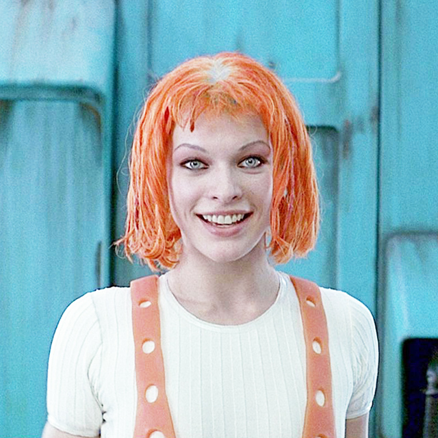 Milla Jovovich as Leeloo - The Fifth Element, 1997