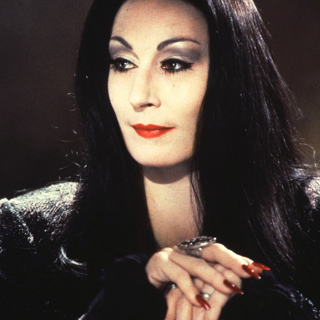 Anjelica Huston as Morticia Addams - The Addams Family, 1991