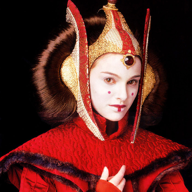 Natalie Portman as Queen Amidala - Star Wars: Episode I - The Phantom Menace, 1999