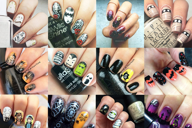 28 Halloween nail art ideas