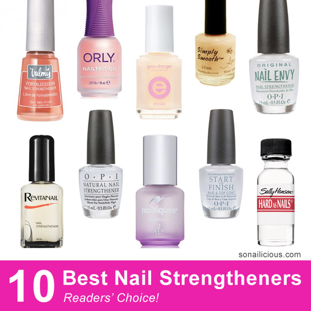 Professional Nail Hardener: 10 Best Nail Strengtheners: Reader's Choice