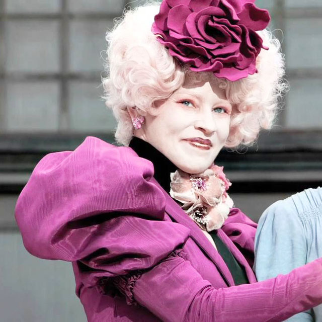 Elizabeth Banks Effie Trinket Transformation