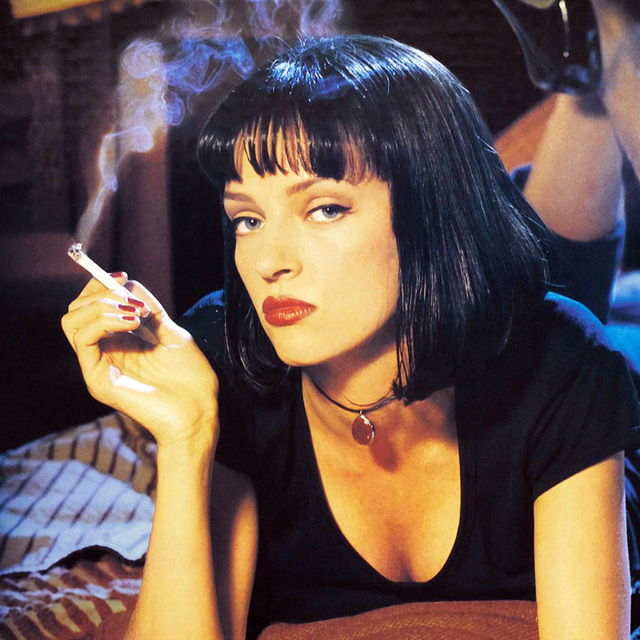 Mia Wallace - Pulp Fiction, 1994