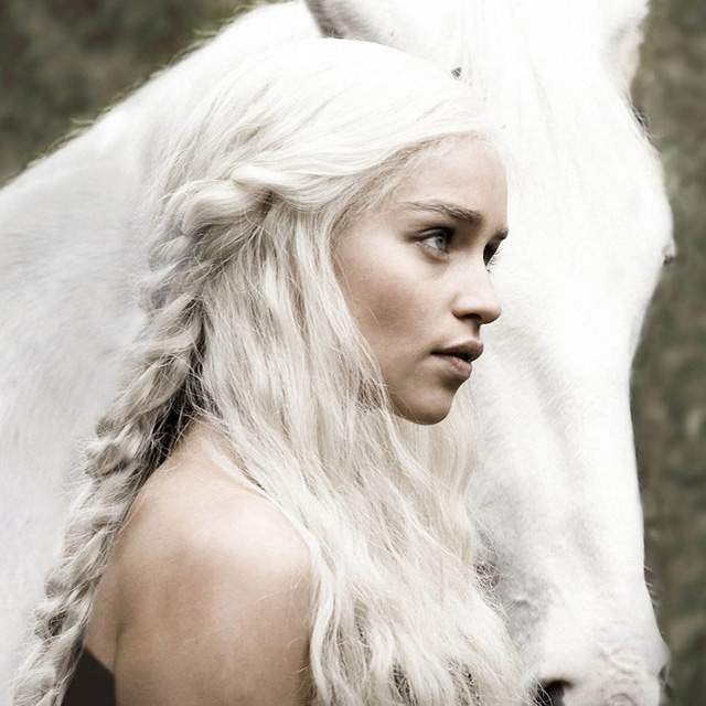 Daenerys Targaryen - Game of Thrones, 2012