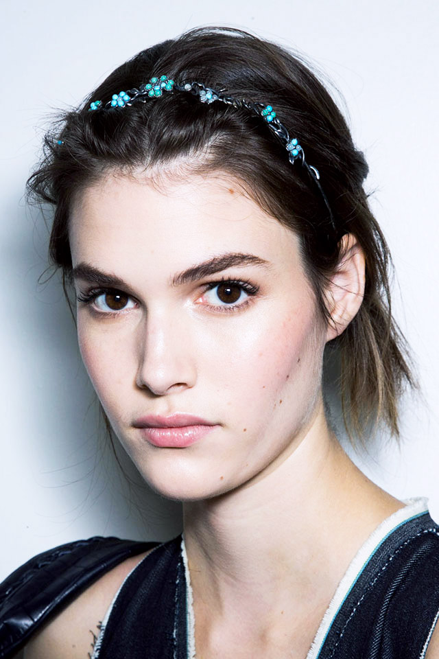 makeup Bottega venetta spring 2015