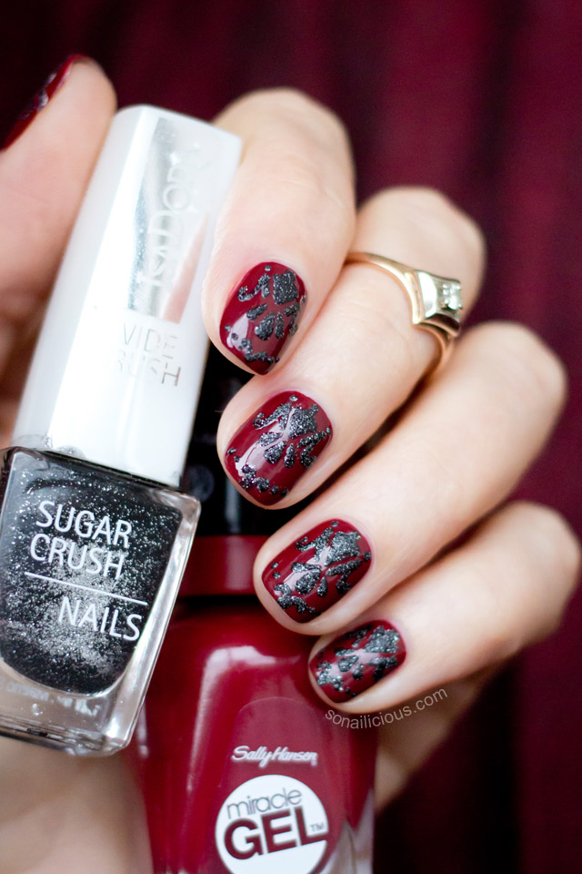 Baroque Nails with Isadora Black Crush