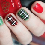 Plaid Nail Art Tutorial