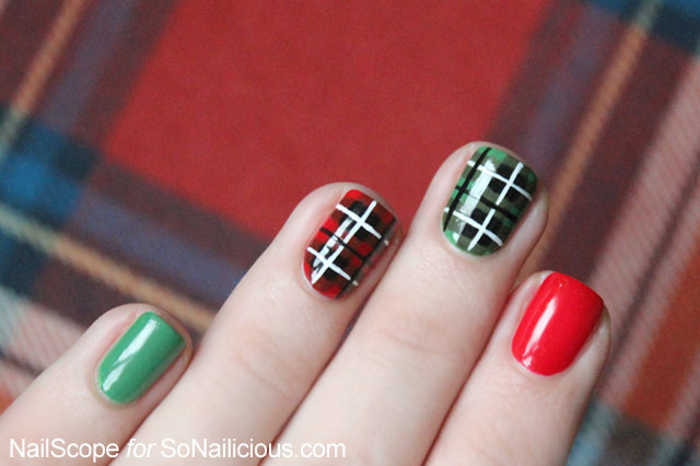 Plaid nail art tutorial plaid nail art plaid nails prinsesfo Choice Image