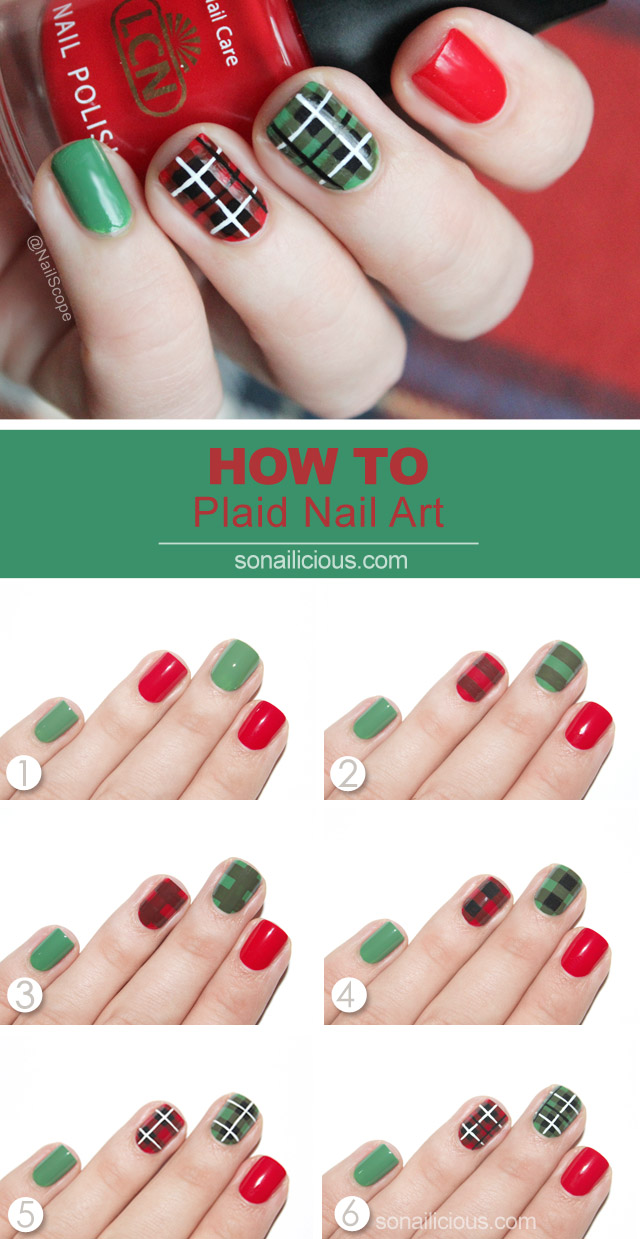 Plaid nail art tutorial plaid nail art tutorial prinsesfo Choice Image
