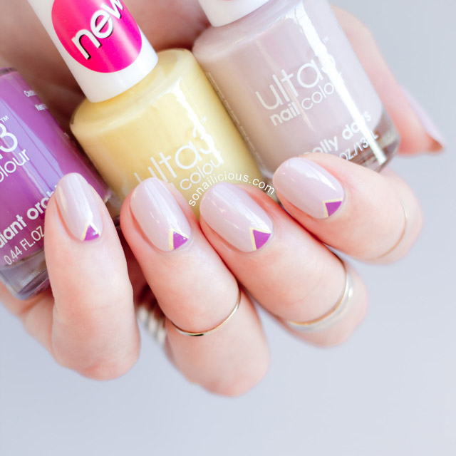 delicate nail art with Ulta3