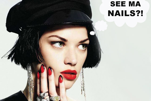 what guys think about nail art