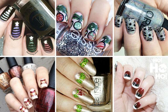 25 Stunning Christmas Nail Art Designs