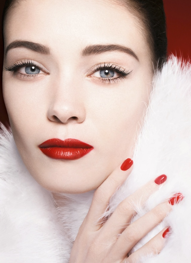 Armani Holiday 2014 makeup