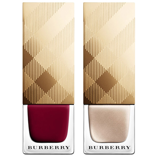 Burberry Holiday 2014 nail polishes