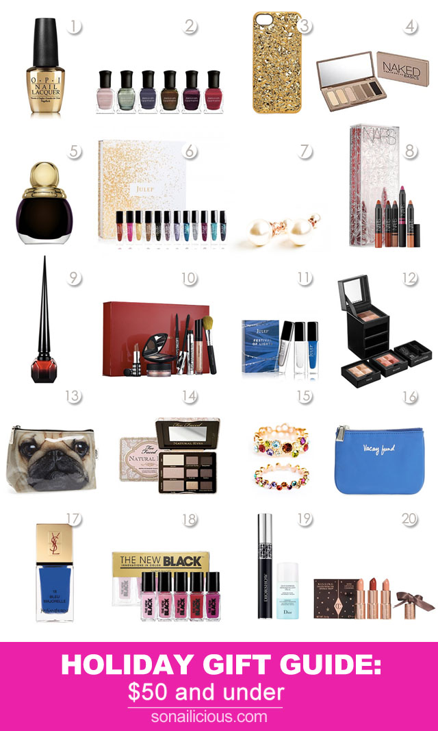 christmas gift ideas for her - 20 Fabulous Christmas Gift Ideas For Her - All Under $50!