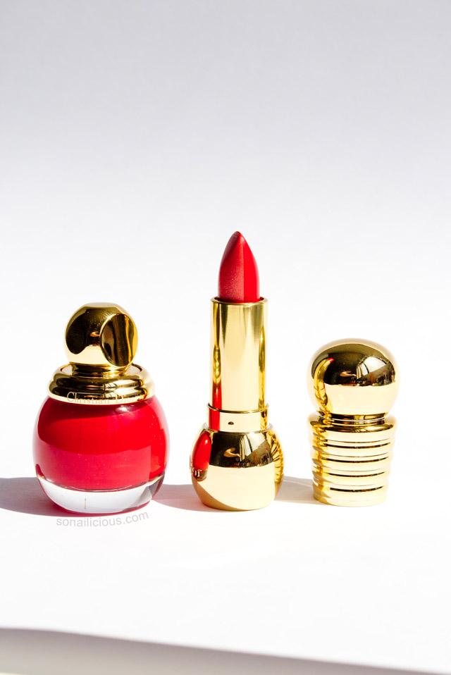 dior diorific vernis 762 shock red polish