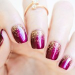 2 Genius Tips For A Perfect Glitter Gradient Manicure