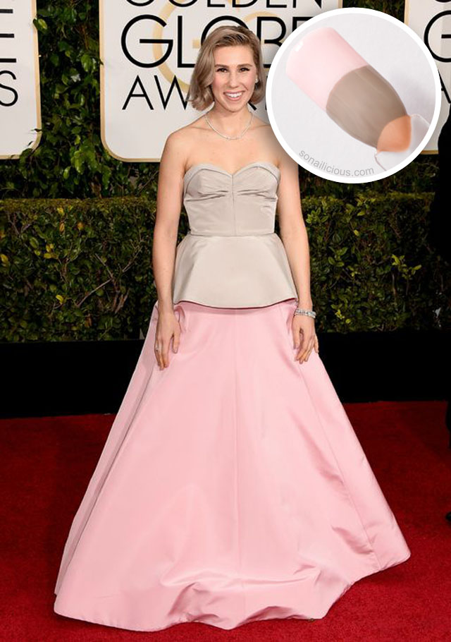 The Golden Globes 2015 5 Best Dresses Turned Into Nail Art