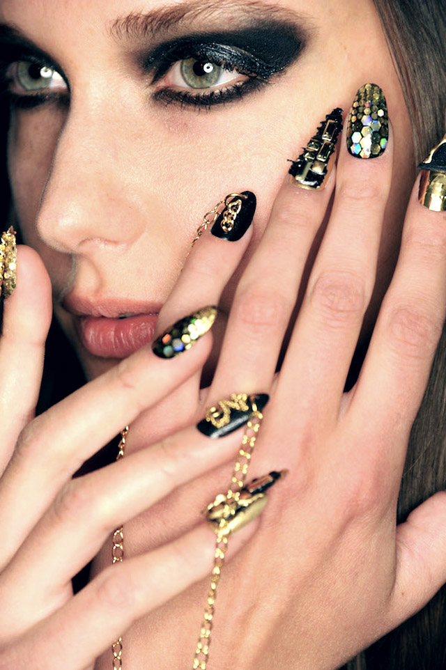 Best 12 Nail Art Ideas From NYFW Fall 2015