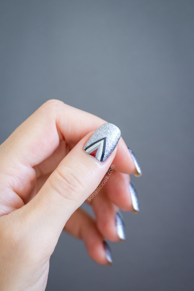 50 Shades Of Grey Nail Art - Tutorial