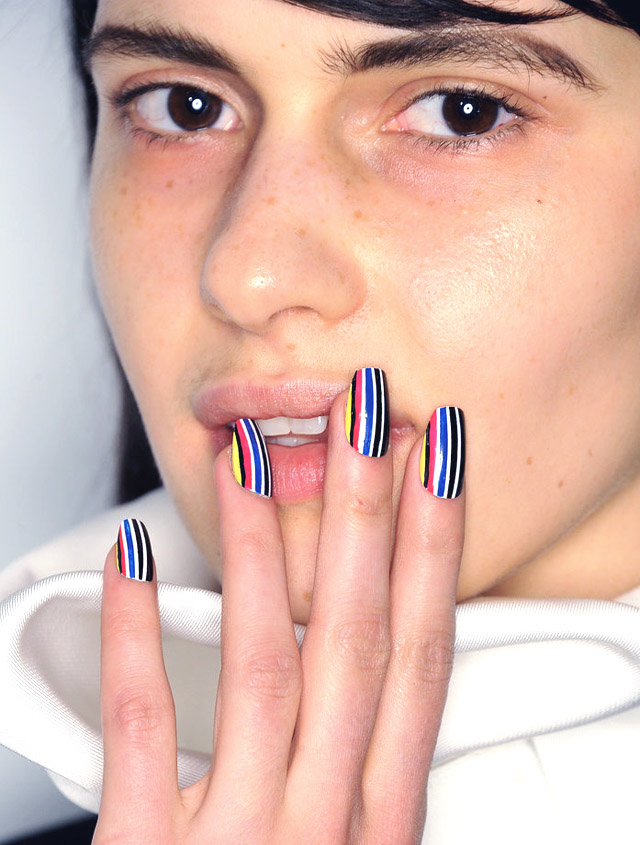 Nails at Opening Ceremony NYFW Fall 2015