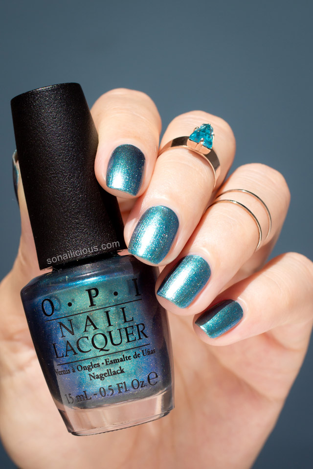 OPI This Color\'s Making Waves... Really!