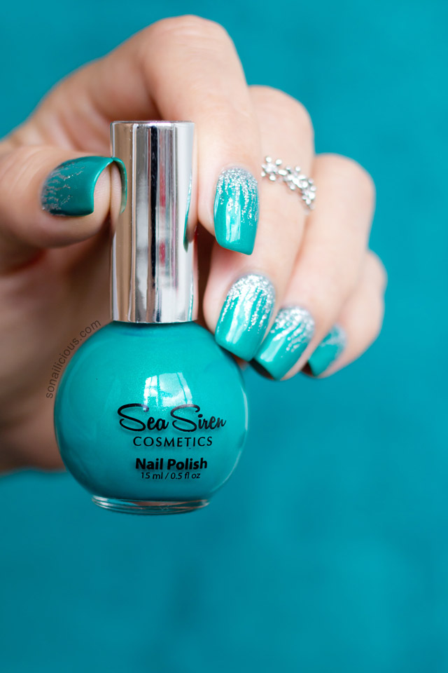 Sea siren Jealousea swatch