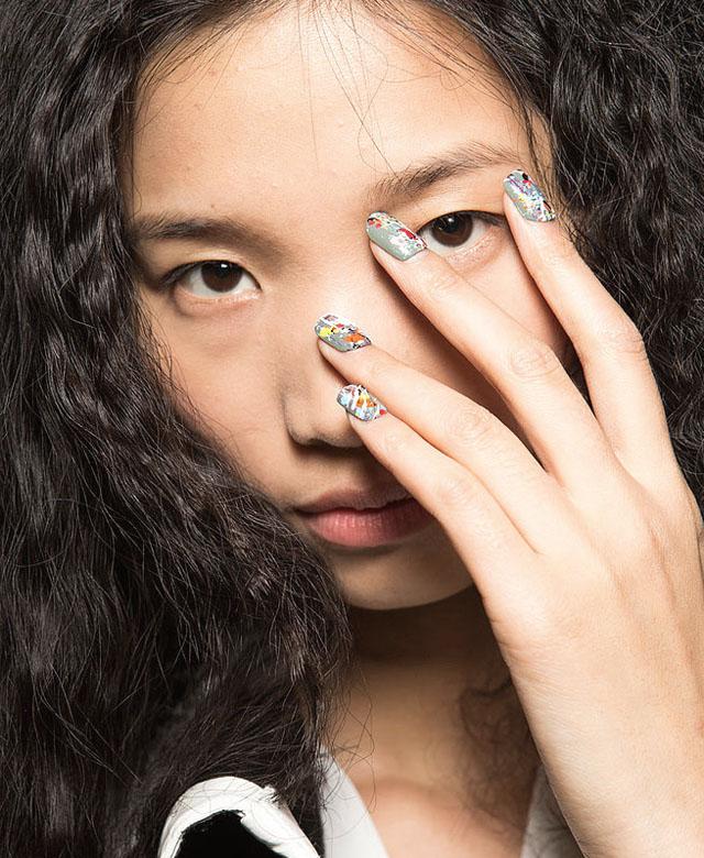desigual nail art mac cosmetics