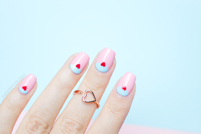 easy valentines day nail ideas