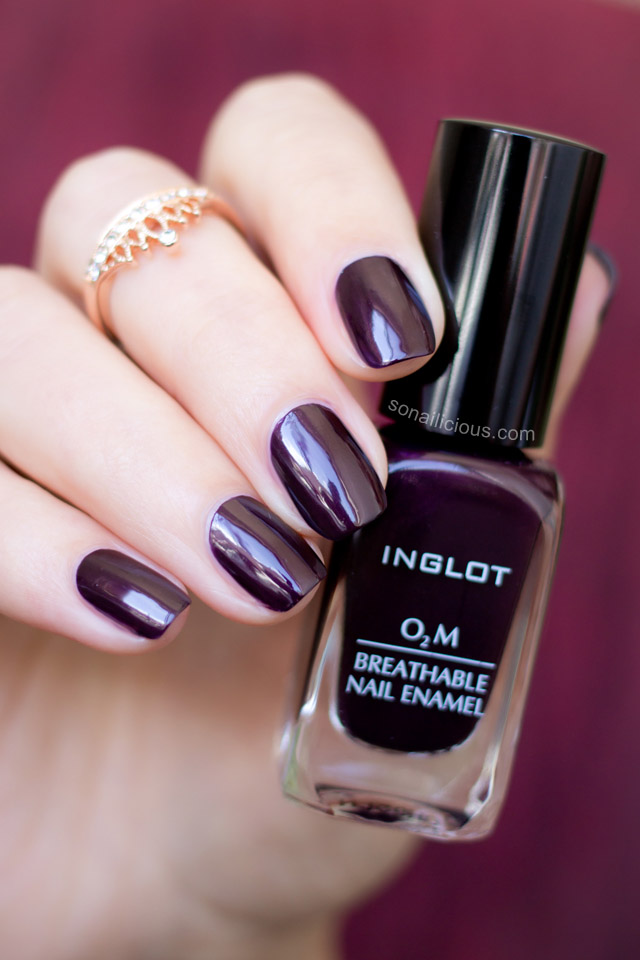 inglot o2m breathable nail polish 691 review