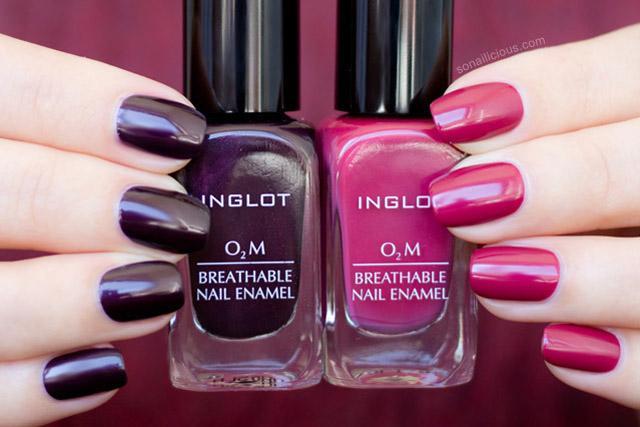 Marsala Perfect Inglot O2m Breathable Nail Polish Review