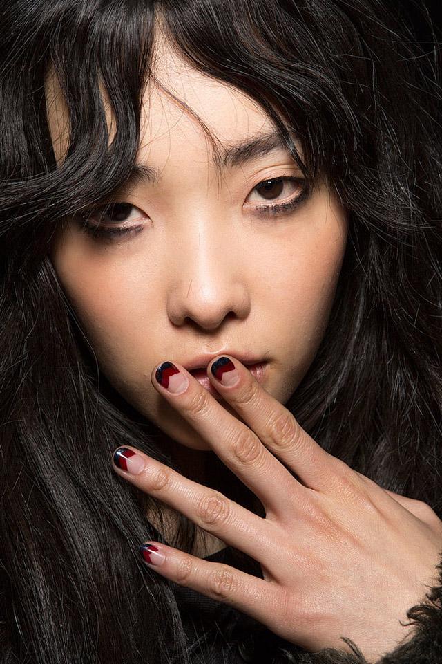 nails at Rebecca Minkoff NYFW Fall 2015 - SoNailicious